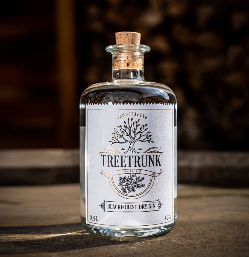 Treetrunk Blackforest Dry Gin